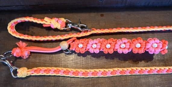 ワン&オンリーDC・カラー&リードセット(オレンジ花)