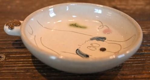 益子焼(肉球小皿)